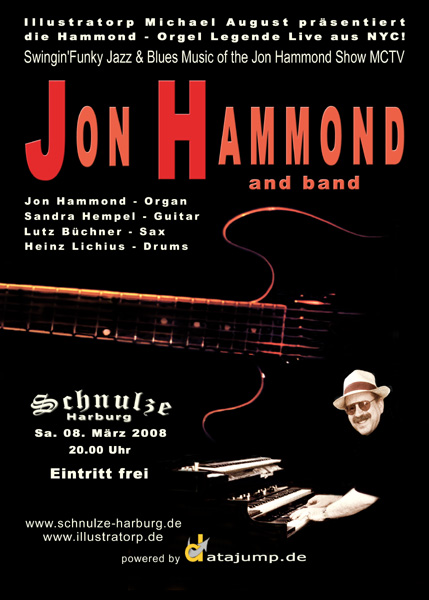 JON HAMMOND Band in Harburg March 8, 2008 !