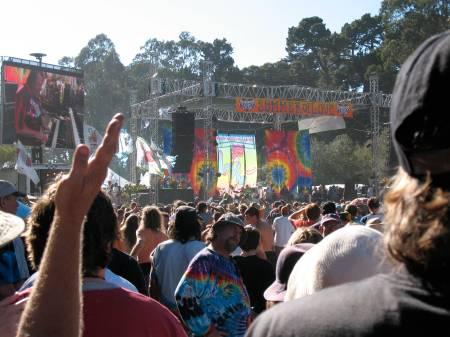 Summer of Love 40 Year Anniversary Golden Gate Park Jon Hammond on the scene *photo byjh