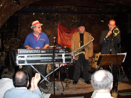 Moanin Blues in Jazzkeller Frankfurt Jon Hammond Band featuring Tony Lakatos, Guenter Bollmann, HeinzLichius