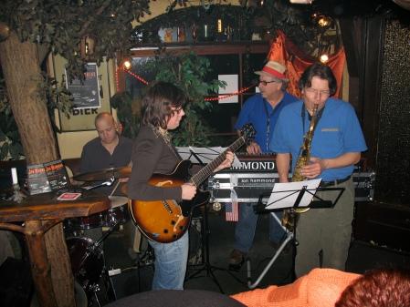 Jon Hammond Band in SCHNULZE HarburgGermany