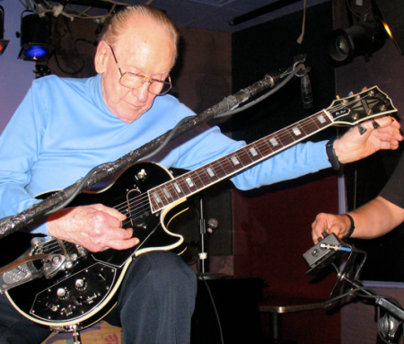 Les Paul Happy 93rd Birthday June 9 2008 NYC!