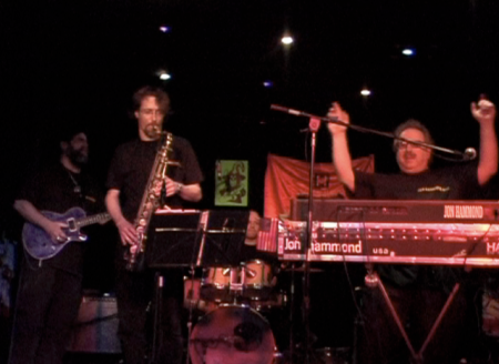 Uptempo Shuffle Jazzkeller Hofheim JON HAMMOND Band