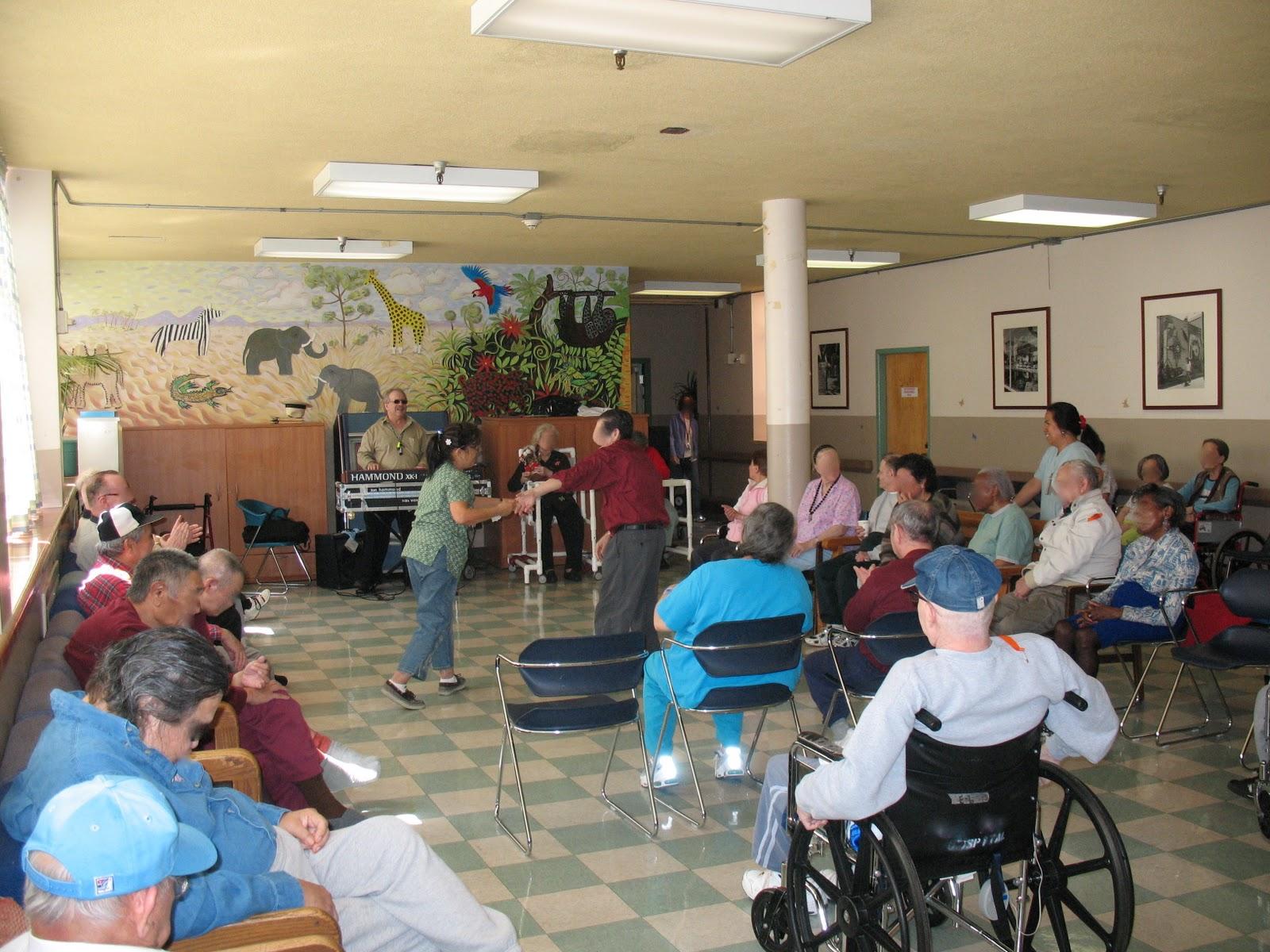 Move Day Laguna Honda Hospital Historic Event Volunteers and Staff